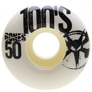 OG 100's #8 V1 White Skateboard Wheels
