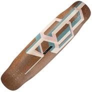 Basalt Tesseract Longboard Deck - Pink