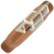 Basalt Tesseract Longboard Deck - Nude
