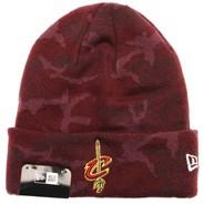 Essential Camo Knit Beanie - Cleveland Cavaliers