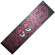 Krooked Pink Logo Skateboard Griptape