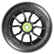 MFX Syndicate AR120 Scooter Wheels (Pair) - Black/Black