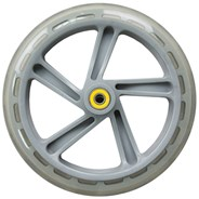 200mm Scooter Wheel and Bearings - Clear