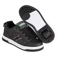 Voyager Black Reflective/Black Kids Heely Shoe