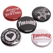 Logo Buttons 5 Badge Pack