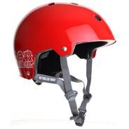187KP Certified Skate/BMX Helmet - Red