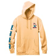 Gonzales Colored Portrait Pullover Hoody - Peach