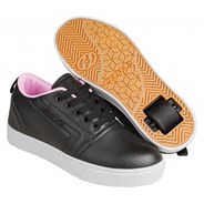 GR8 Pro Black/Light Pink Kids Heely Shoe