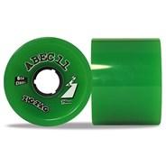Classic ZigZags 70mm Longboard Wheels - Green