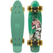 Complete 22inch Plastic Skateboard - Star Wars Boba Fett