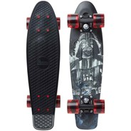Complete 22inch Plastic Skateboard - Star Wars Darth Vader