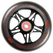 MFX Fuse 120mm Scooter Wheels - Black/Red