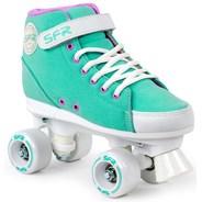 Vision Sneaker Kids Quad Roller Skates - Green
