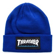 Logo Patch Beanie - Navy