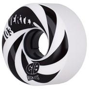 CIB Vertex 61mm Black/White Aggressive Quad Roller Skate Wheels