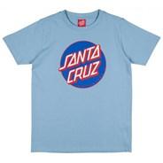 Classic Dot S/S Youth T-Shirt - Sky