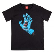 Screaming Hand S/S Youth T-Shirt - Black