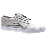 Griffin Silver Textile Vegan Shoe