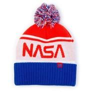 NASA Pom Beanie