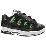 D3 2001 Black/White/Green Shoe