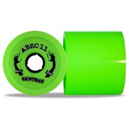 Reflex Centrax 83mm/80A Longboard Wheels - Lime