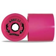 Reflex Centrax 83mm/77A Longboard Wheels - Pink