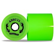 Reflex Centrax 77mm/80A Longboard Wheels - Lime
