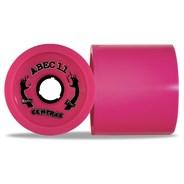 Reflex Centrax 77mm/77A Longboard Wheels - Pink