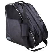Compartmental Boot Bag - Black/Grey
