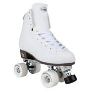 Artistic White Quad Roller Skates