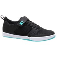 Accel Plus Ever Stitch Black/Teal Shoe