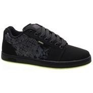 Metal Mulisha Barge XL Black/Lime Shoe