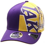 NBA Retro Pack Pre Curved 9FIFTY Snapback - LA Lakers