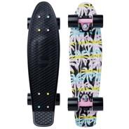 Complete 22inch OG Plastic Skateboard - Retro Palm