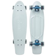 Complete Nickel 27inch Plastic Skateboard - Ice