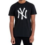 Team Logo S/S T-Shirt - New York Yankees Black