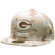 Camo 5950 Fitted Cap - Green Bay Packers