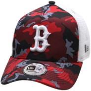 Camo Trucker Cap - Boston Red Sox