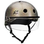 Lifer Helmet inc Visor - Champagne Glitter