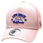 Long Beach Trucker Cap - Pink/Blue