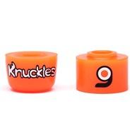Knuckles Double Barrel Truck Bushings - Orange Soft