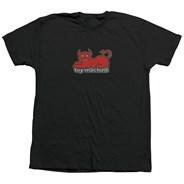 Devil Cat S/S T Shirt - Black
