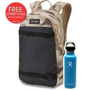 URBN Mission 22L Backpack - Ashcroft Camo + FREE DAKINE HYDRO FLASK