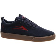 Bristol Navy/Red Suede Shoe