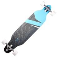 Lokz Drop through Complete Longboard - Marina Blue