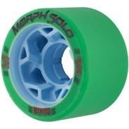 Morph Solo 59mm 97A Roller Derby Skate Wheels - Green