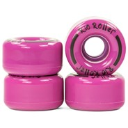 Coaster Stripe Quad Roller Skate Wheels - Purple