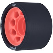 Halo 59mm/93a Roller Derby Skate Wheels - Charcoal/Pink