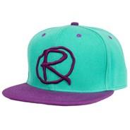 Rampworx Snapback LE 97.3 Cap Teal/Teal/Purple