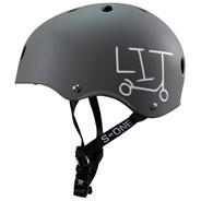 Lifer LIT Helmet - Grey Matt